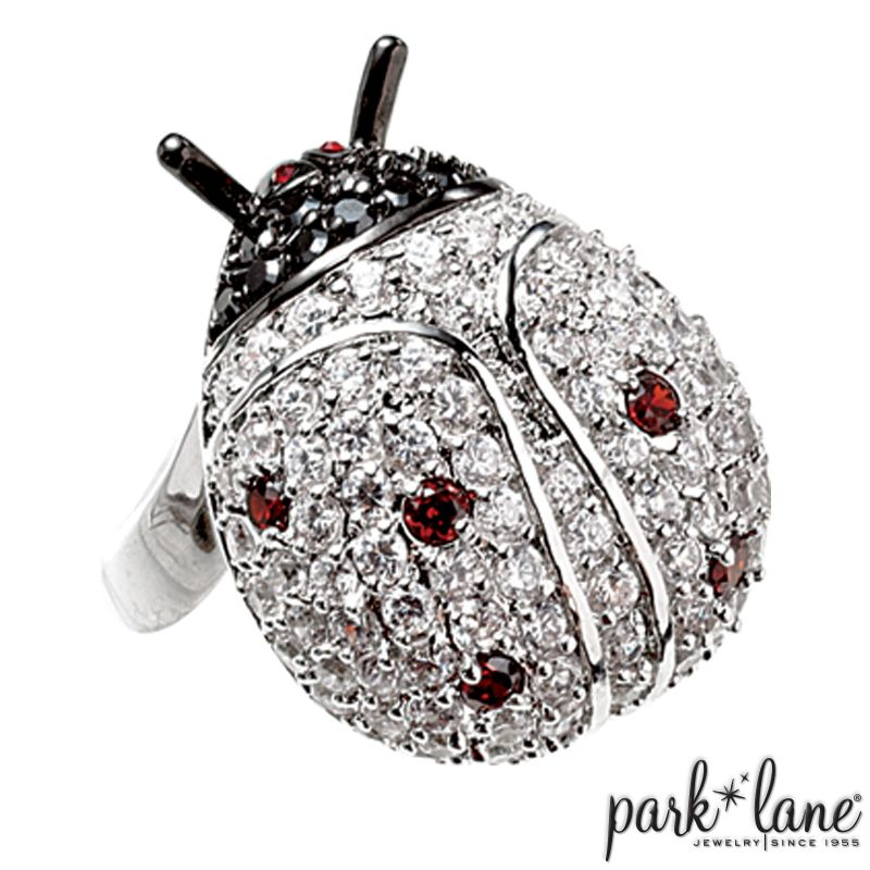 Lucky Lady Ring It is said that a #ladybug brings good luck. When ...
