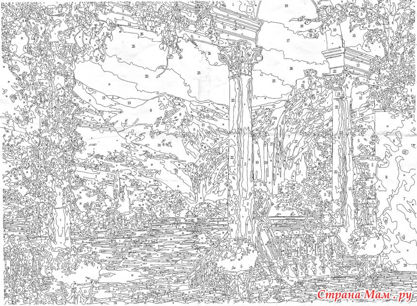 Терасса (с изображениями)   Картины, Раскраски, Раскраска ...