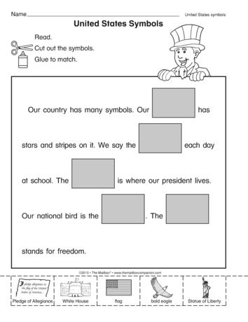 A Social Studies Worksheet That Addresses United States Symbols A Kindergarten Social Studies Social Studies Worksheets Kindergarten Social Studies Worksheets Preschool social studies worksheets