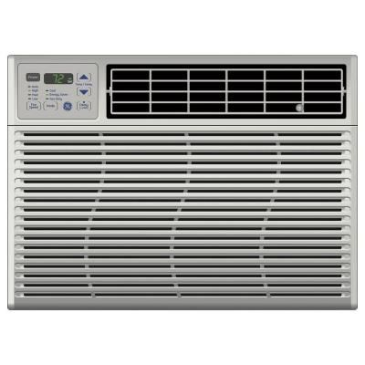 Ge 14 200 Btu 115 Volt Electronic Window Air Conditioner With Remote Ael14aq The Home Depot Window Air Conditioner Room Air Conditioner Air Conditioner