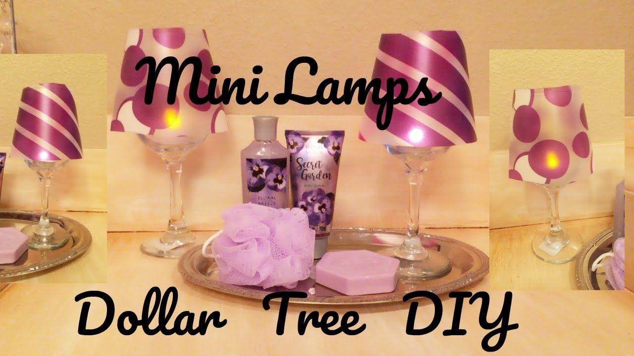 Wedding decorations dollar tree  DIY Mini Dollar Tree Lamps  Just Beautiful youtubec