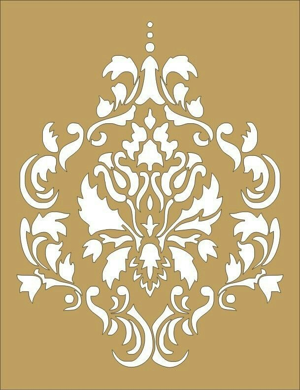 Great design for an accent wall | homes | Pinterest | Stenciling ...