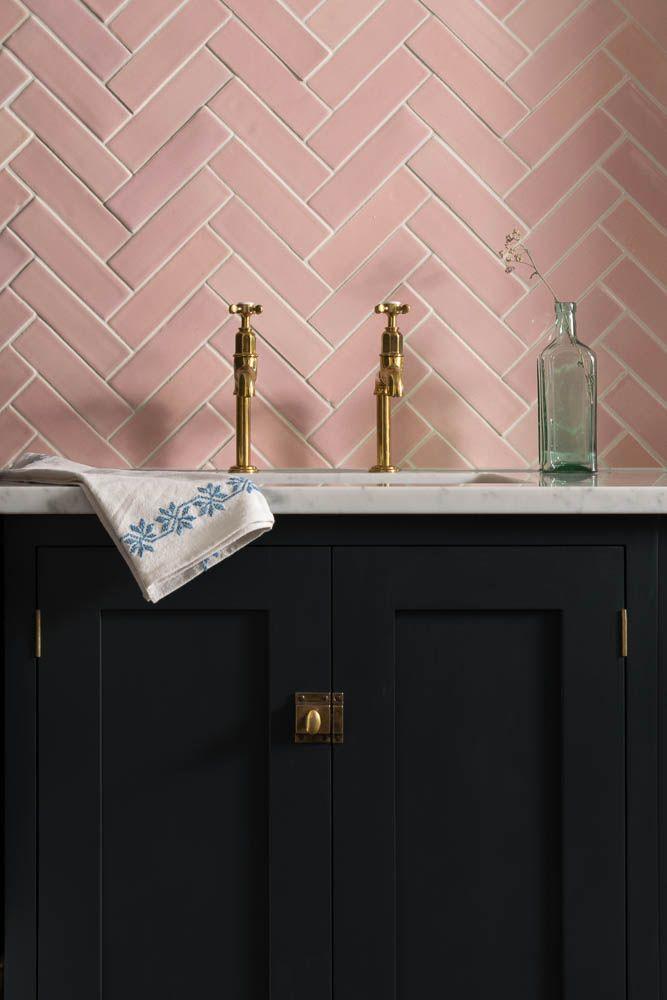Marble Cake Design Pink