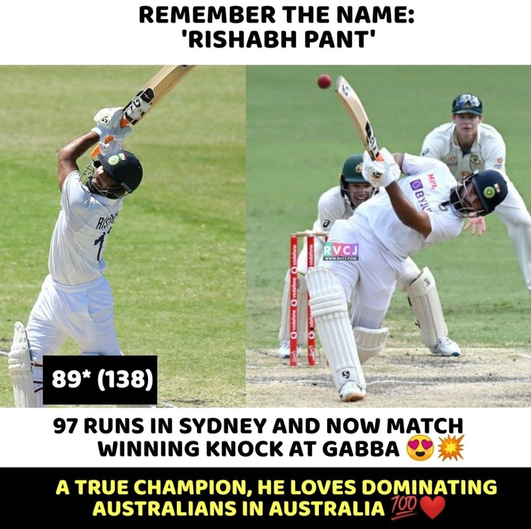 Rishabh You Champ In 2021 World Cricket Remember The Name Very Funny Memes