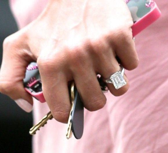 Amal Clooney engagement ring I Do Pinterest Amal clooney