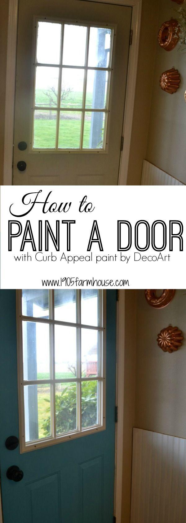 How To Paint A Metal Door Exterior House Doors Painted Front Doors Painting Metal Doors