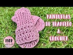 Photo of Pantuflas de Trapillo a Crochet | Punto Margarita