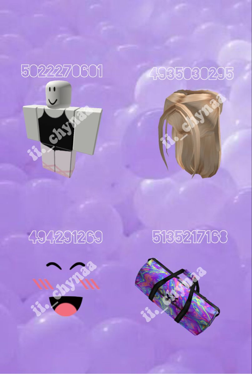 Ballet outfit code✨ Coding Bloxburg decal codes Roblox