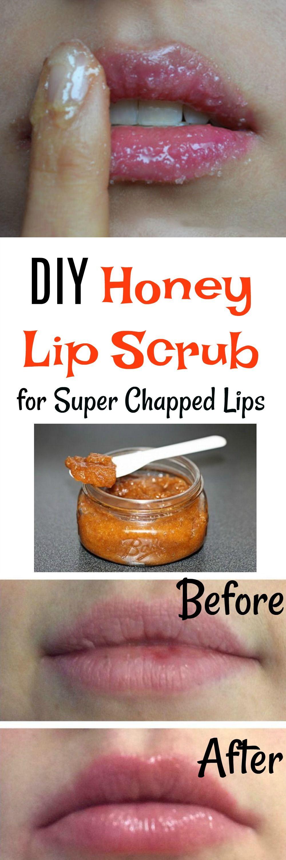 photo Moisturizing DIY Coconut And Honey Lip Scrub