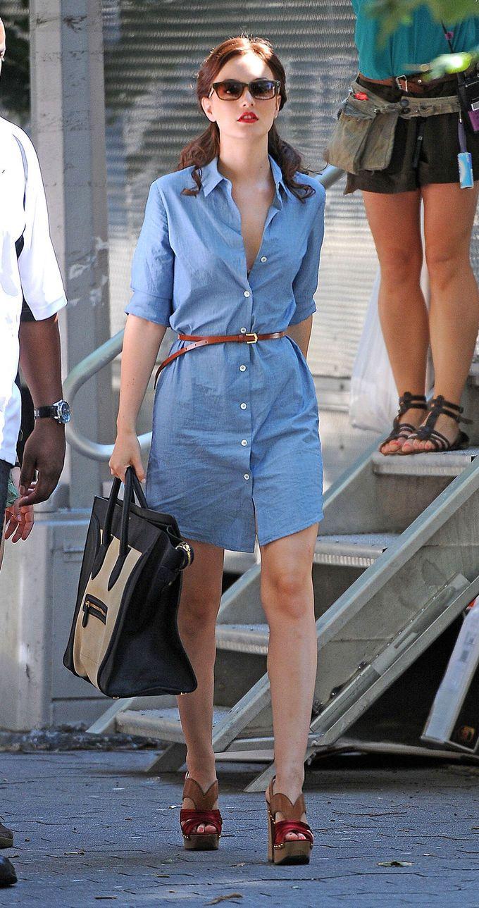 b37336a911 Consejos para llevar vestidos camiseros Supernatural Style ...
