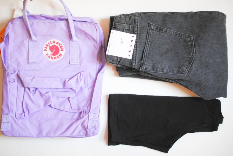 fjallraven kanken backpack lilac