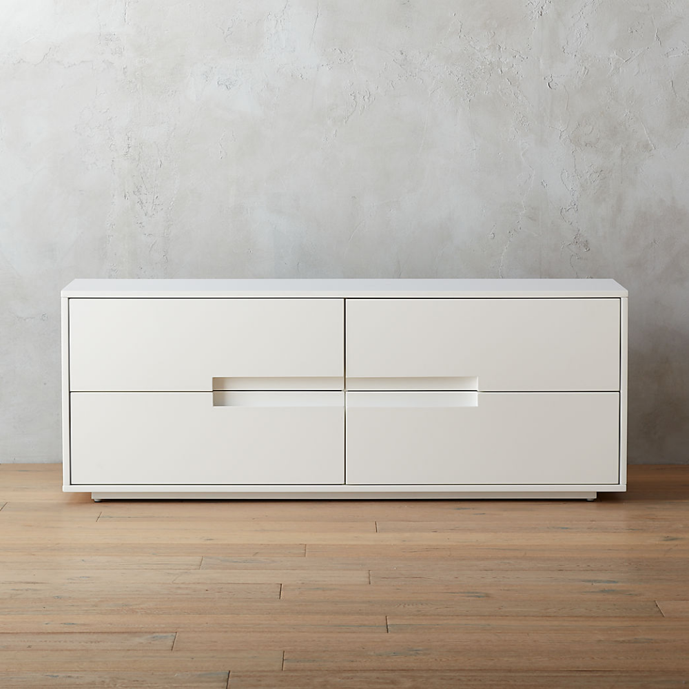 Best Modern Dressers And Chests Of Drawers Cb2 Low Dresser 400 x 300