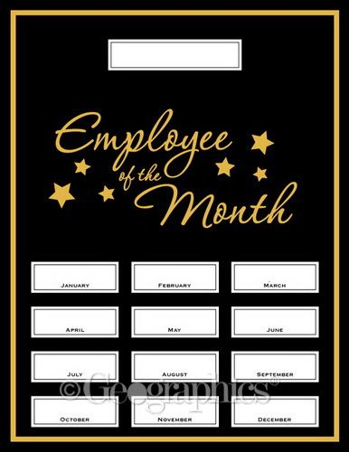 employee of the month awards templates