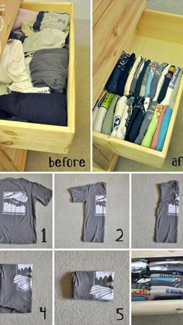 The Stair Redo How To Como Organizar El Armario Organización De Ropa Organizar La Casa