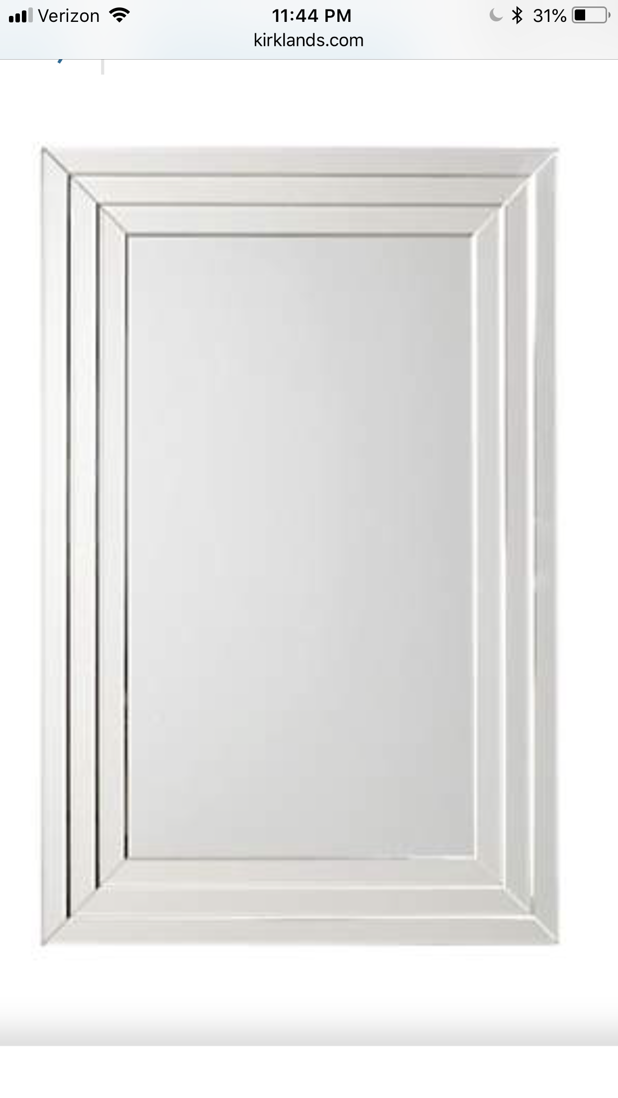 Infinity Frameless Wall Mirror 24x36 In Mirror Wall Mirror