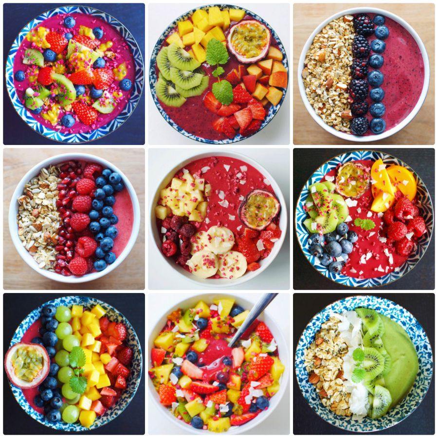 12 colorful, healthy and beyond delicious smoothie bowls ...