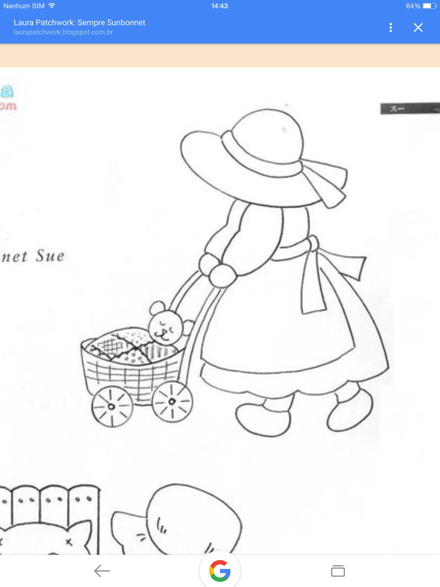 Pin von Monica Chou auf Sunbonnet Sue & Billy | Pinterest | Vorlagen ...