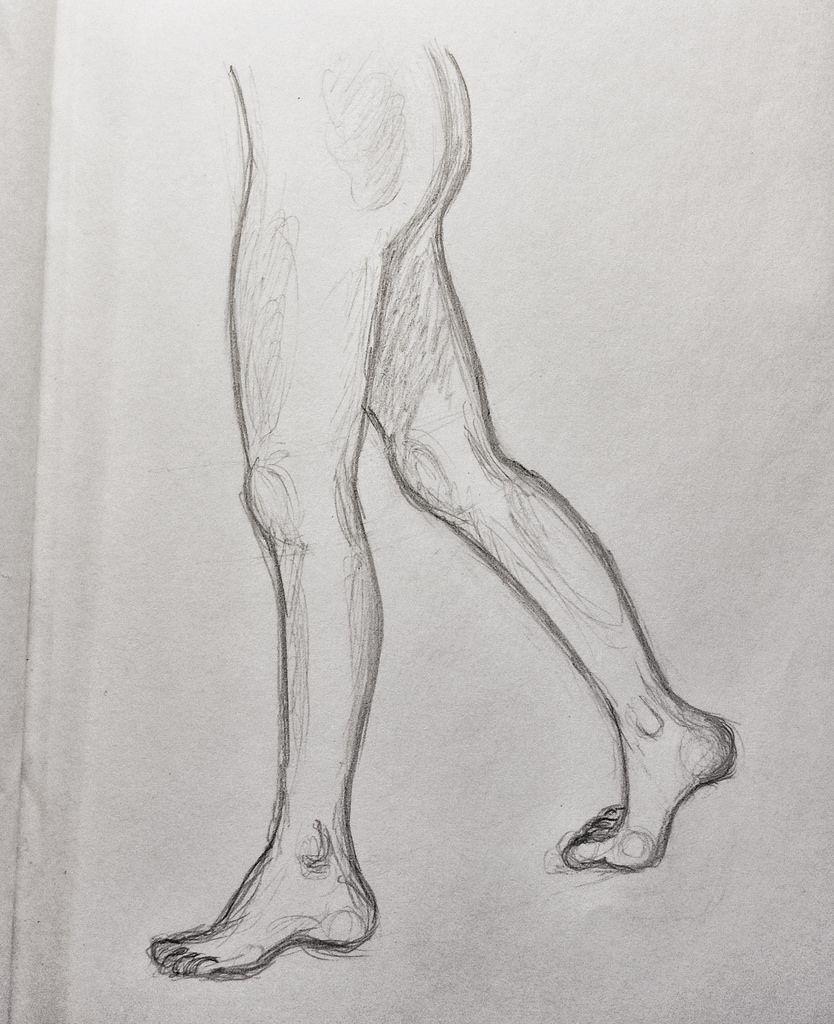 Human Legs Drawing : human, drawing, Walking, Drawings,, Outline, Drawing