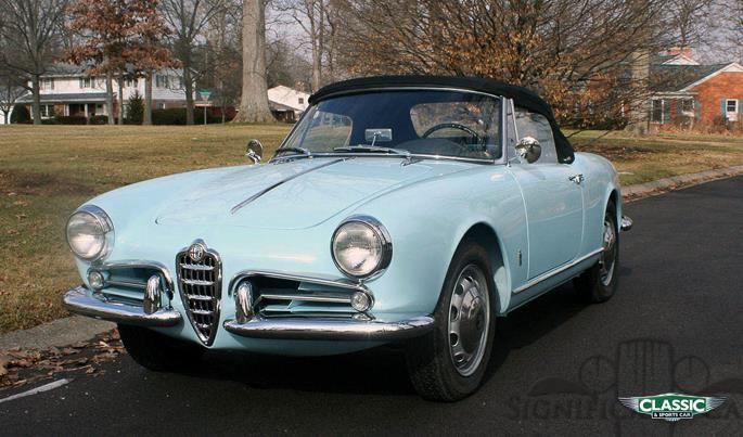 Classic Alfa Romeo Giulietta Spider Veloce For Sale Classic - Alfa romeo giulietta 1960 for sale