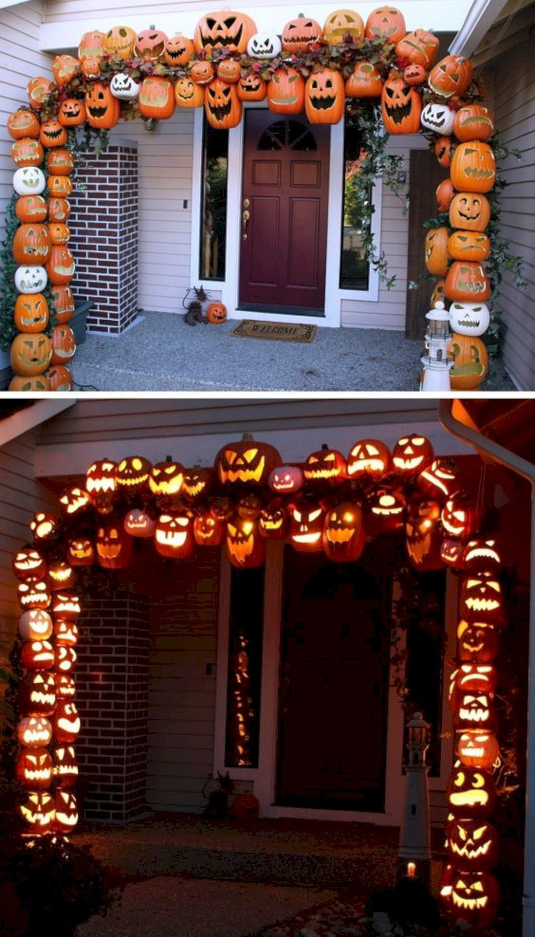 Lets Boo Your Neighbors With These 15 Outdoor Halloween Decorating - outdoor halloween decorating ideas