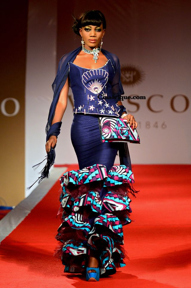 Ciaafrique African Fashion Beauty Style Vlisco Fashion Show Cotonou 2012 Grace Wallace