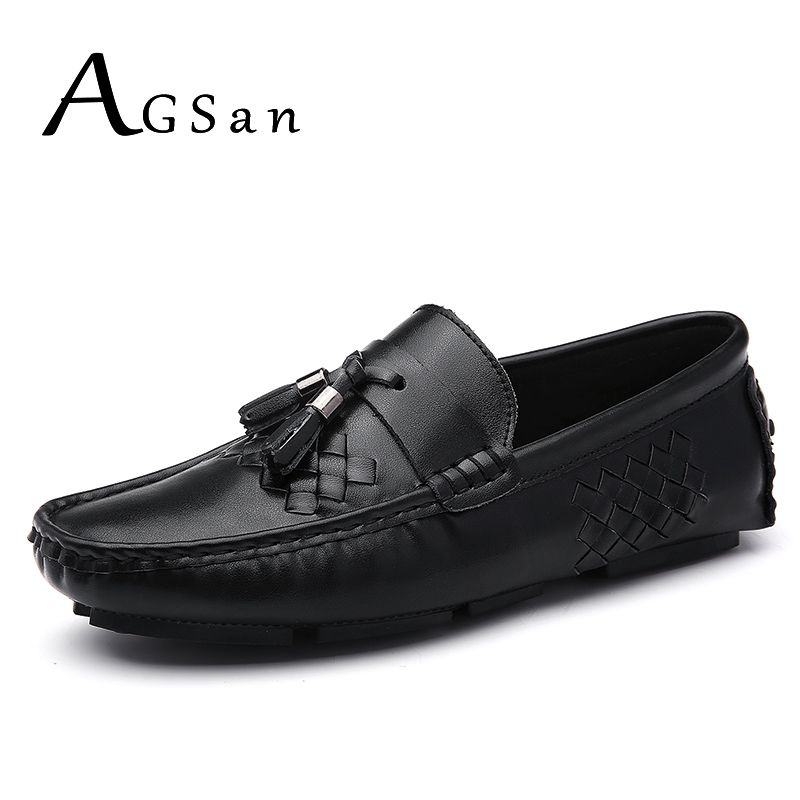 Casual Mocassins Homme cuir Chaussure Driving Chaussure chaussures Pois d6l96H