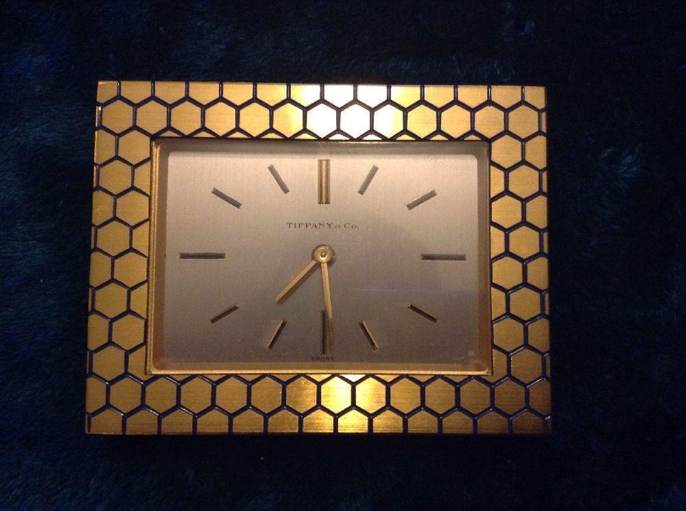 Tiffany Co Antique 15 Jewel Swiss Alarm Clock Its Tiffany Time