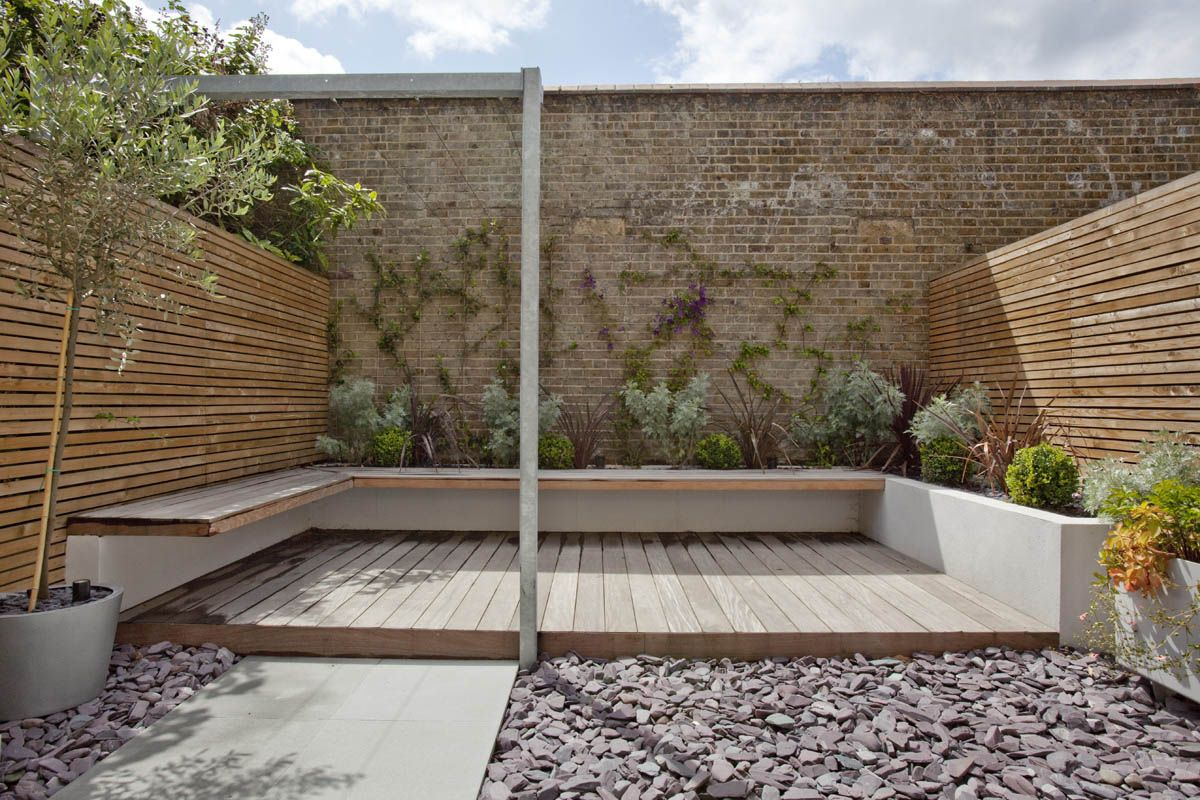 Simple small space DIY Clapham, London - Studio Octopi | Landscaping ...