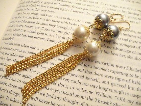 The Loren Earrings by Eleganceforyou on Etsy, $15.00