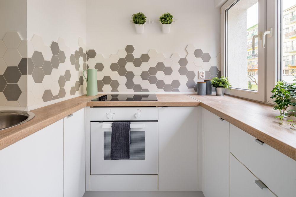 Płytki Heksagonalne W Kuchni Do Domu W 2019 Wystrój W