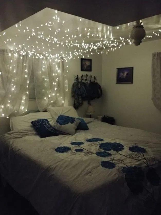 29 beautiful diy fairy light for minimalist bedroom decoration bedroom bedroomideas roomideas on cute lights for bedroom decorating ideas id=88261