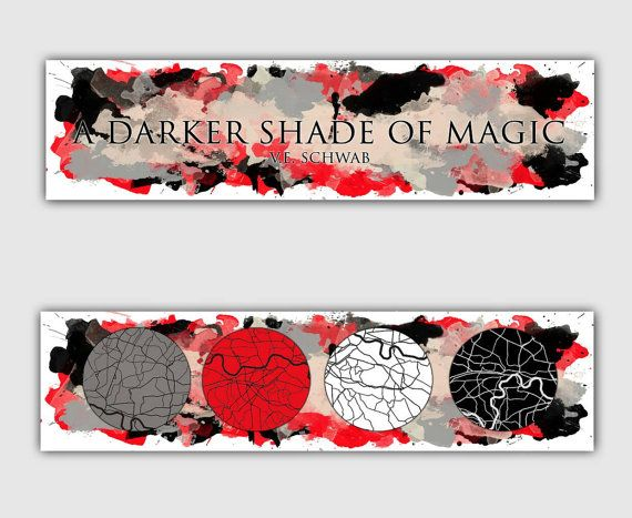 Image result for a darker shade of magic bookmark