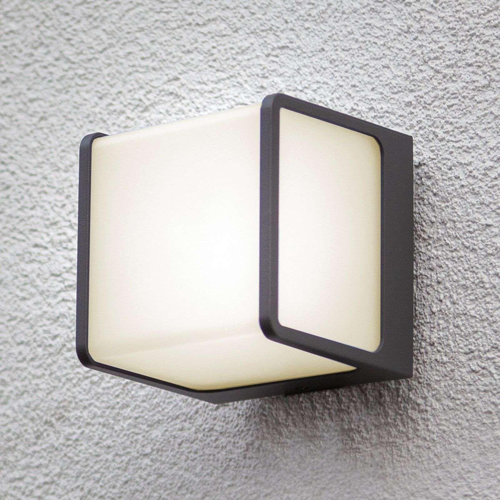 Moderne Aussenwandleuchten Telin Von Eco Light Weiss In 2020 Aussenwandbeleuchtung Aussenwandleuchte Led