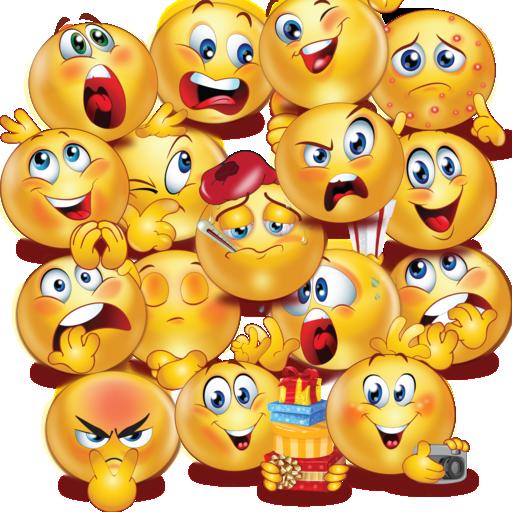 Facebook Smileys Stickers ヽ(^o^)ノ Twitter Smileys Stickers