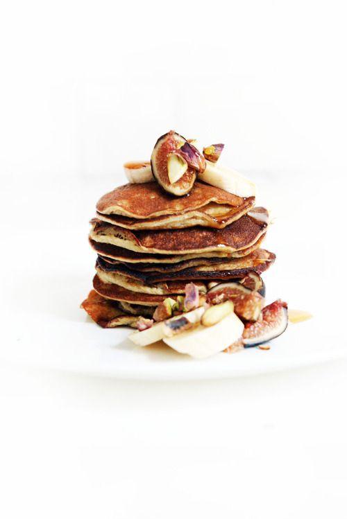 maca banana pancakes   Food Photography   breakfast   brunch   pancakes   syrup   Food Styling   Food Porn   Food   Foodie   Eat   Yum   Cook   Schomp BMW