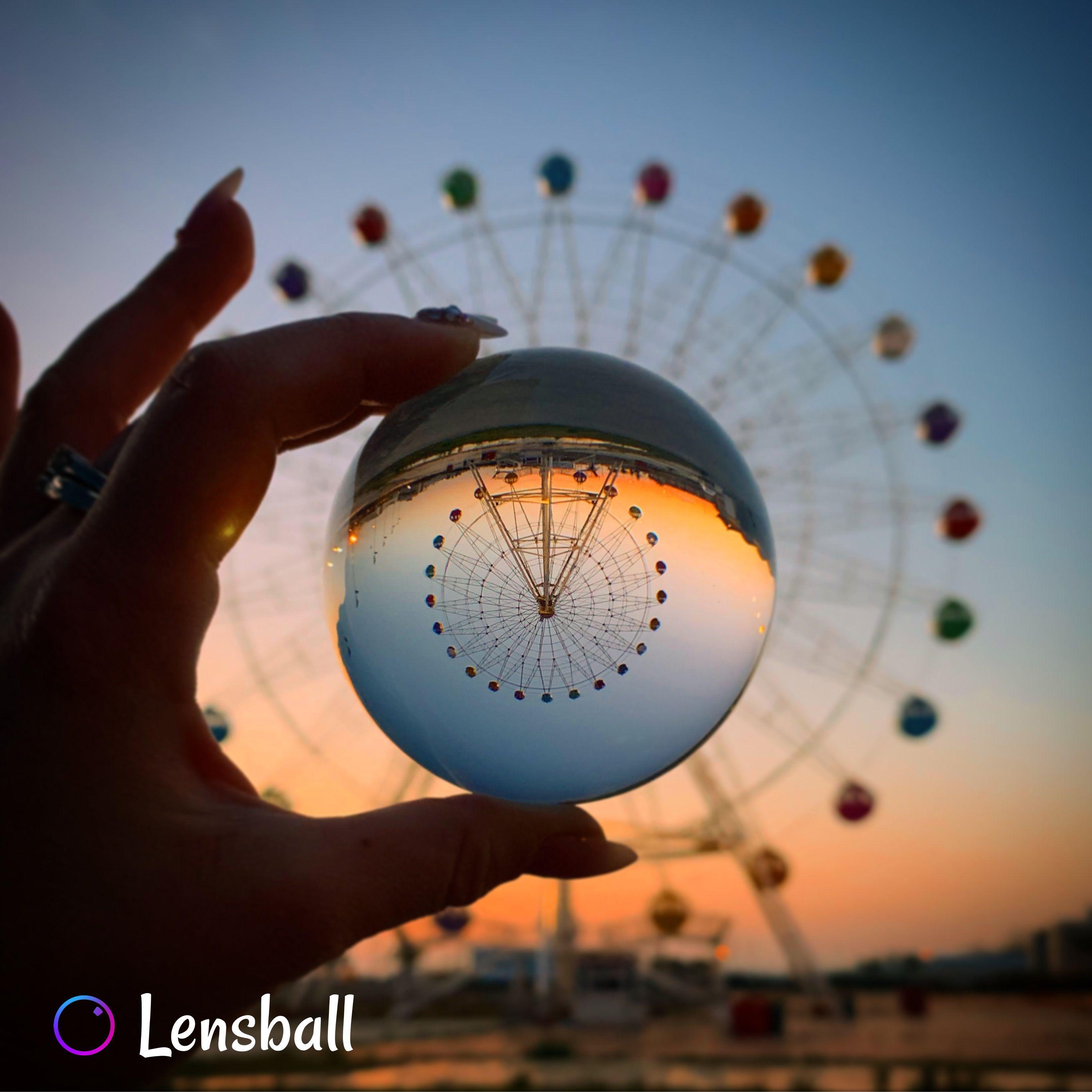 Original Lensball Pro Magical Photography Crystal Photography Reflection Photography