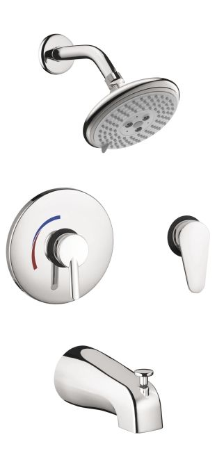 Focus S Shower System Combination Set Shower Systems Hansgrohe