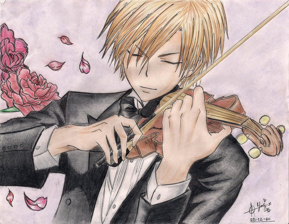 Pin Op Anime Violinist