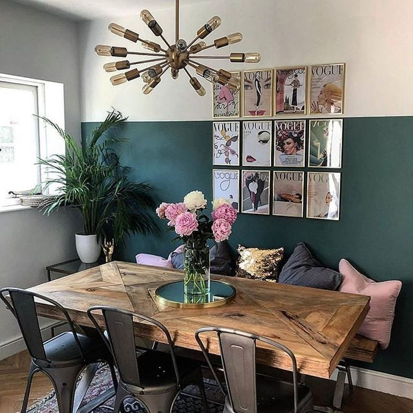 54 Stylish Dining Room Ideas To Make Your House More Colorful images