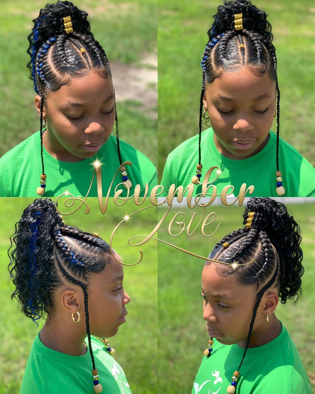 Image May Contain One Or More People And Text Braided Hairstyles Kids Braided Hairstyles Braids For Black Hair