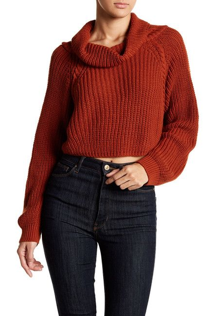 Abound | Cropped Chunky Knit Sweater