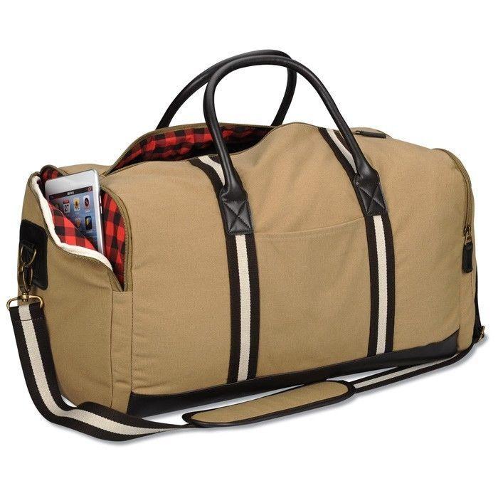 Stylish Rugged Travel Duffel Bag