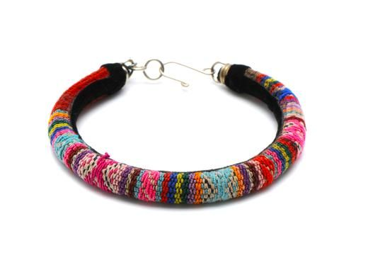 Peruvian friendship bracelet.