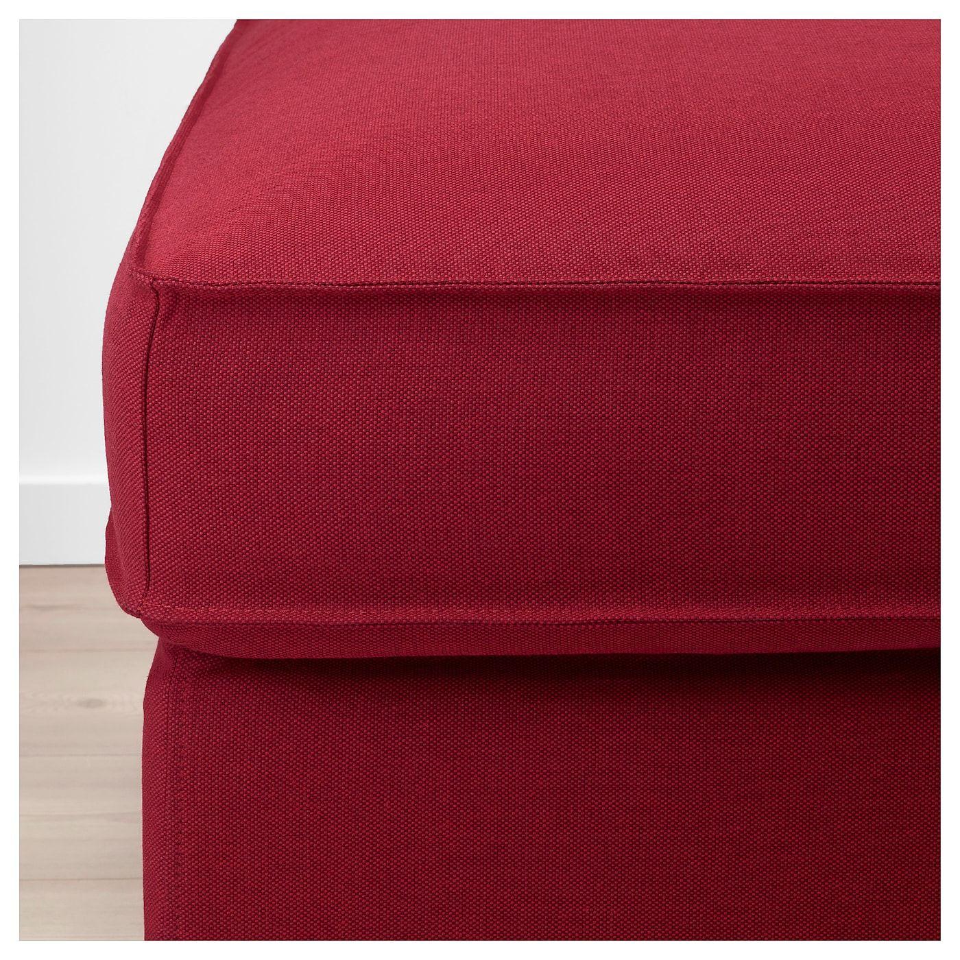 Ikea Kivik Footstool With Storage Storage Footstool Fabric