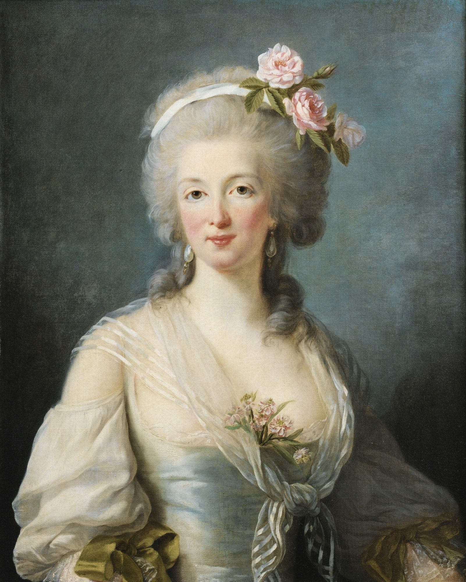 I Have Never Seen The Above Picture Identified As Madame De La Motte The Adventuress Who Precipitated The Di Rococo Art Rococo Painting 18th Century Paintings