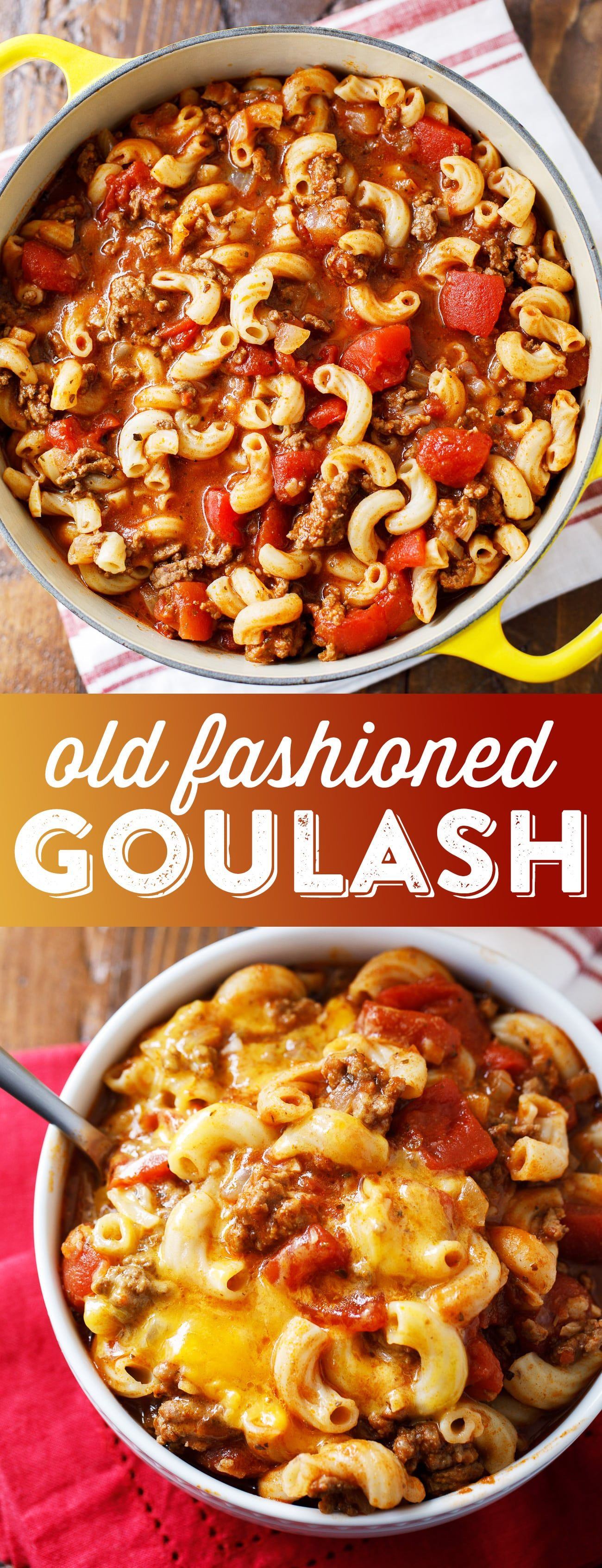 Old Fashioned Goulash Recipe - Johnny Marzetti Recipe images