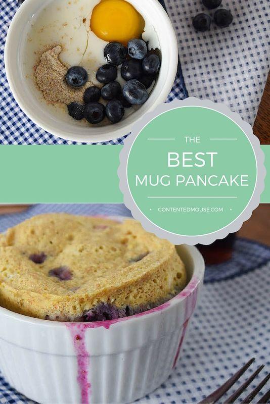 The Best Mug Pancake! | Breakfast sweets, Mug recipes, Food