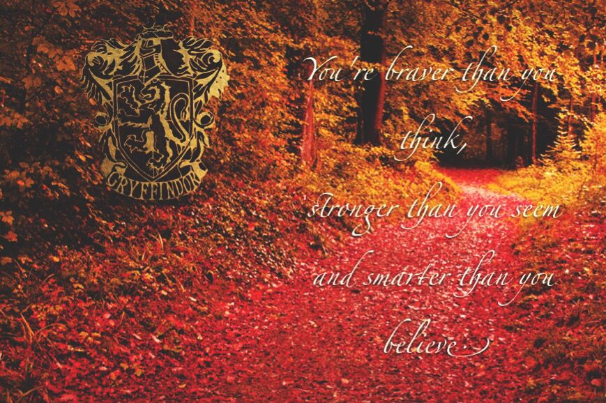 Gryffindor Quotes Harry Potter Harry Potter Childhood Always Be