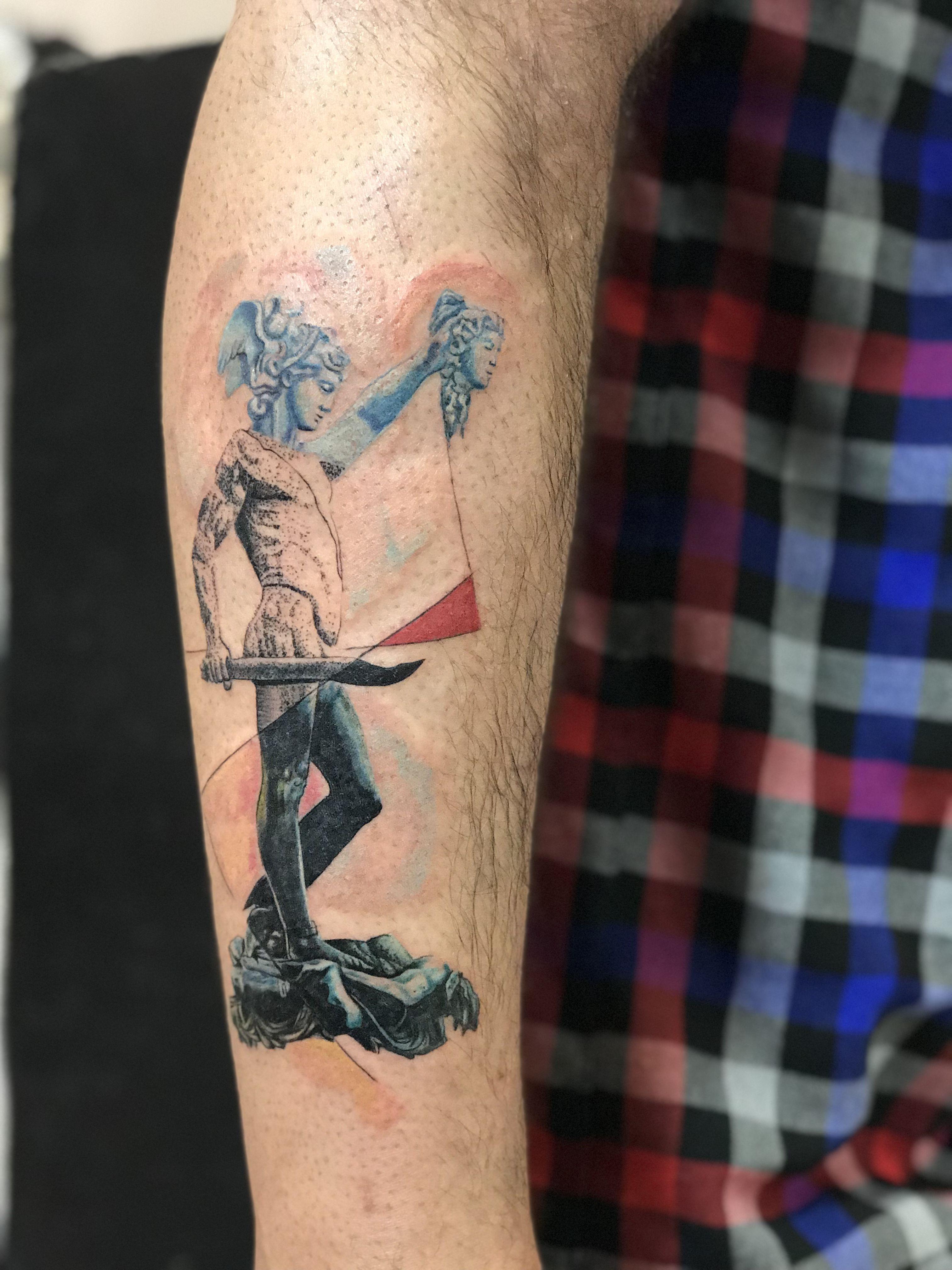 Perseus And Medusa Tattoo Tattoodesigns Tattooart Art