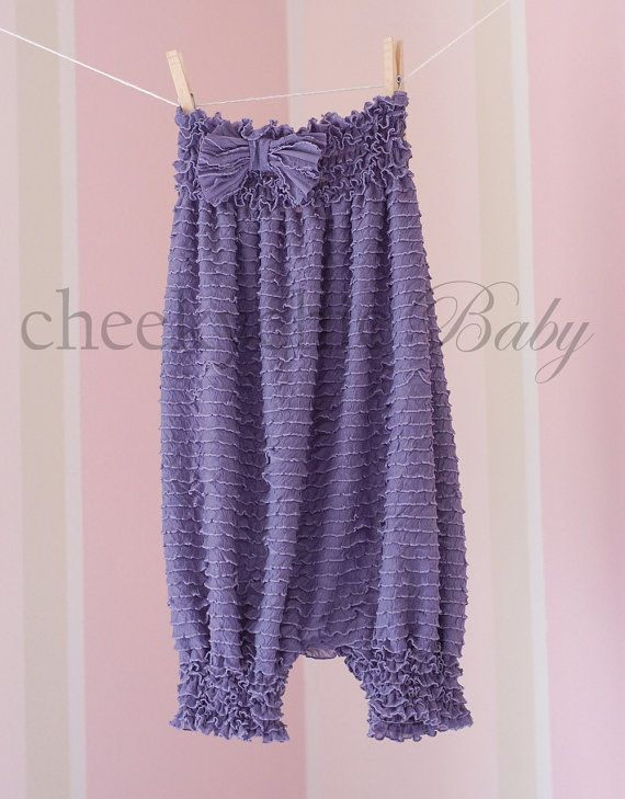 Vintage Ruffle Romper by Cheeky Chic Baby SILVER by cheekychicbaby, $42.00